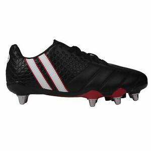 8b0aab479 Patrick Mens Power X Rugby Boots Lace Up Studs Stripe Striped