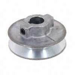 NEW-CHICAGO-DIE-CASTING-6401210-1-3-4-034-X-3-4-034-BORE-SINGLE-GROOVE-V-BELT-PULLEY