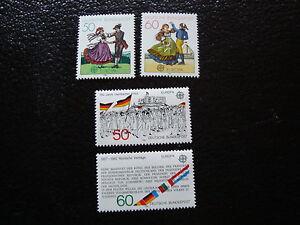Germany-stamp-Yvert-and-Tellier-Europa-N-928-929-962-963-N-Stamp-Germany
