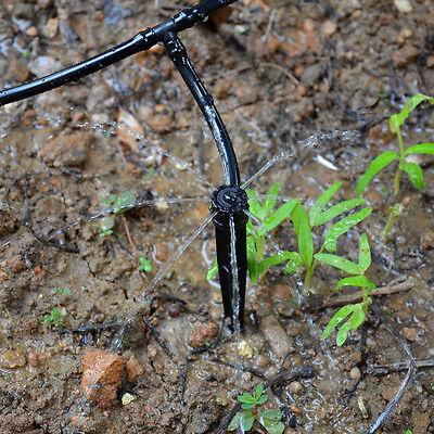 50 x Adjustable Cooling Drip Dirpper Irrigation System Sprinkler Stakes