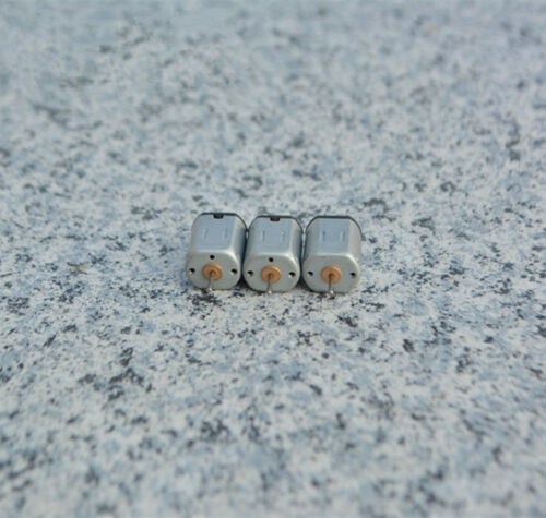 3 Pcs N20 DC 6V 16800RPM 6*1mm shaft Micro Motor RC Model Helicopter