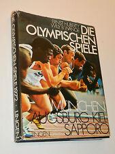 LES JEUX OLYMPIQUES 1936-1972 HUBERTY WANGE game SAPPORO Munchen Augsburg KIEL