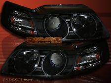 99 00 01 02 03 04 FORD MUSTANG GT COBRA V6 BLACK PROJECTOR HEADLIGHTS NEW