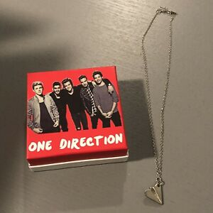 One-Direction-Harry-Styles-NIB-paper-plane-necklace