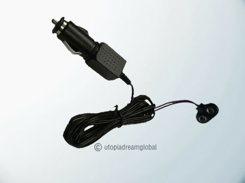 Car DC Adapter Power Supply Cord For Meade Telestar Digital Refracting Telescope