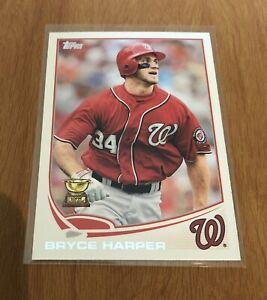2013-Topps-Bryce-Harper-Rookie-Cup-Card-1-Washington-Nationals