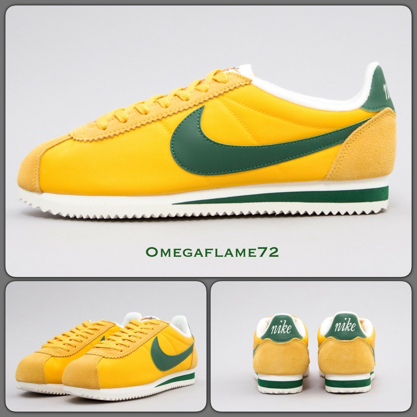 Nike Cortez Nylon Prem Oregon Ducks,10.5 876873-700 EU 45.5 US 11.5 876873-700 Ducks,10.5 9a1e96
