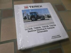 Stupendous Terex Tx760B Tx860B Backhoe Loader Electrical Wiring Diagrams Wiring Digital Resources Remcakbiperorg