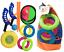 4-IN-1-Jardin-amp-Playa-Juegos-Anillo-Lanzar-Frisbee-Pelota-amp-Catch-Bola-Familia miniatura 1