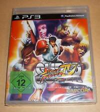 Playstation 3 - Super Street Fighter 4 IV - Deutsch - PS3 Neu OVP