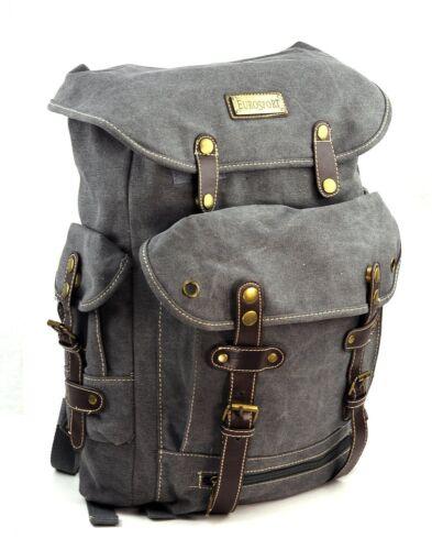B721 EuroSport Washed Canvas Cargo Backpack Bag