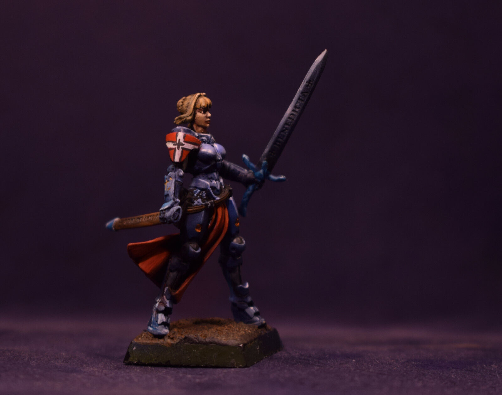 Infinity, Panoceania, Joan of Arc, limited edition, Painted