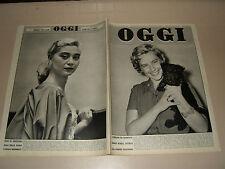 OGGI=1955/28=ADELINA PATTI=PASTENE=ELENA GIUSTI=SANTA MARINELLA=GUARESCHI A CASA