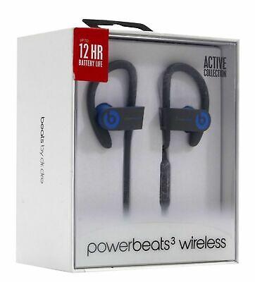New Oem Beats By Dr Dre Powerbeats3 Wireless Headphones Flash Blue 190198212634 Ebay