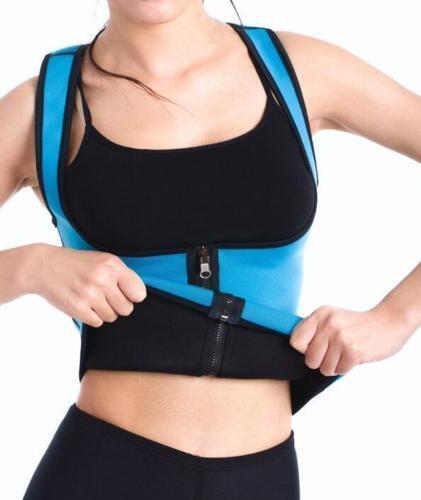 HOT Slimming Neoprene Vest Hot Sweat Shirt Body Shapers for Weight Loss Womens