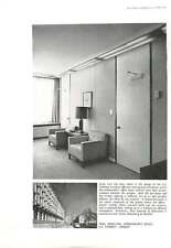 1961 Wall Panelling Office Us Embassy Eero Saarinen