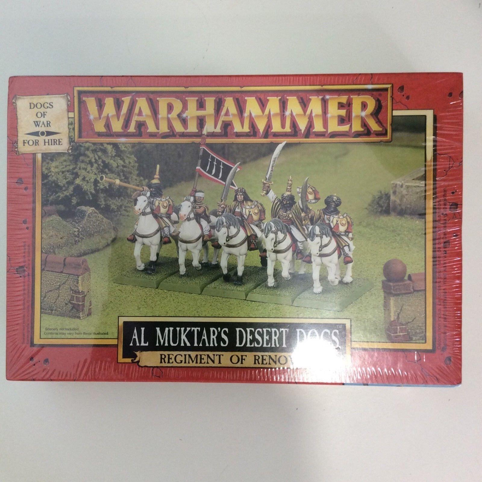 WARHAMMER FANTASY AL MUKTAR'S DESERT DOGS OF WAR OOP