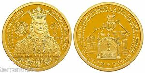 g974-ROMANIA-1504-2004-KING-STEPHAN-THE-GREAT-500-YEARS-ANNIVERSARY-BRONZE-MEDAL