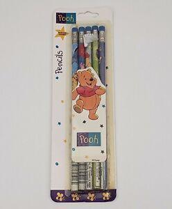 Winnie-The-Pooh-Pencils-Pack-Impact-Inc-Disney-New