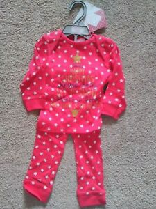 Baby Christmas Pyjamas. Age 9-12 Months Only. Brand New With Tag