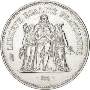 500002-France-Hercule-50-Francs-1976-Paris-SPL-Argent-KM-941-1