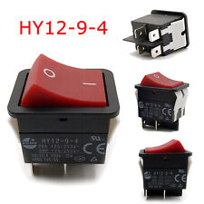 1 Pièces KEDU HY12-9-4 Power On Off 2 positions Rocker Switch 4 pins IP55 T85