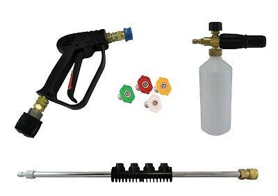 Premium Pressure Washer Swivel Gun//Foam//Lance Quick Release Nozzles Karcher K5-7