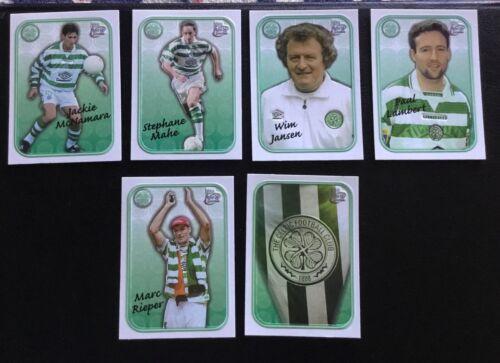 Carte de collection-Celtique Wim Jansen-FUTERA Fans Selection 1998 en relief