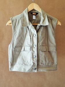 Womens rei outdoor gear vest cotton medium athletic hiking for Rei fishing gear