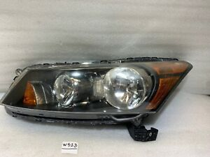 2008 2009 2010 2011 2012 Honda Accord Headlight OEM Left Driver Halogen