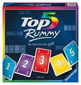 Ravensburger-Top-5-Rummy-Brettspiel-Gluecksspiel-Quizspiel-Spiel-Partyspiel-Party