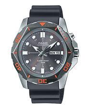 Casio Men's Resin Watch, Date, 100 Meter, Super Illuminator, MTD1080-8AV