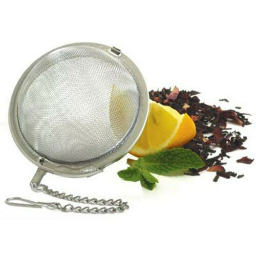 Norpro 5504 Stainless Steel Mesh Tea Ball Strainer 2-1//2-Inch