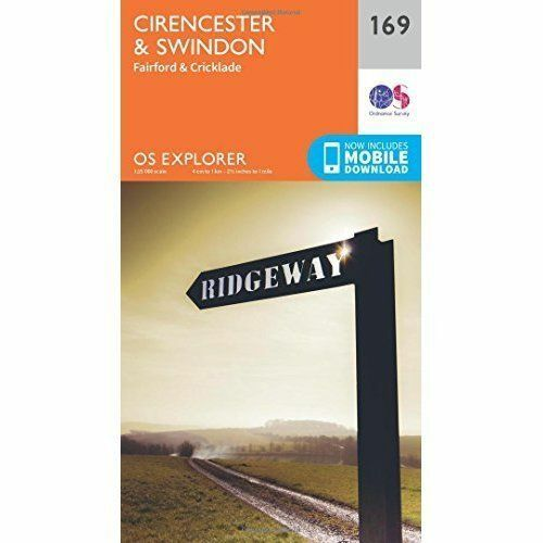 1 of 1 - Cirencester and Swindon, Fairford and Cricklade by Ordnance Survey (Sheet...