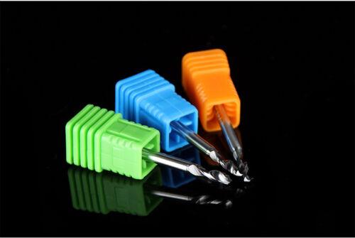 10pcs Carbide Micro Drill Bits 3.175mm x1.5mm x 12mm CNC PCB Dremel 1//8 Shank