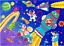 miniature 1 - KERLUDE Puzzle Enfant 60 Pièces Fusée Et Cosmonautes 6 Ans +