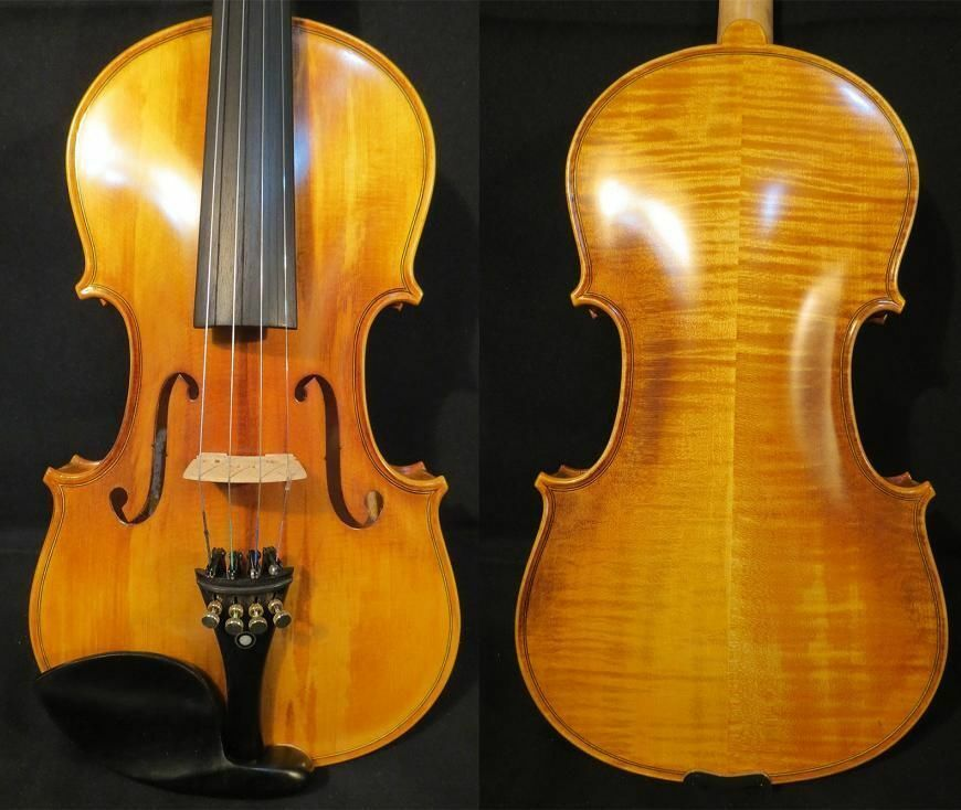 COMMISSION YOUR OWN NEW HAND MADE VIOLIN, 4 4-1 16, WITH OPTIONS TO YOUR TASTE