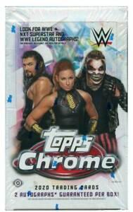 2020 Topps Chrome WWE Factory Sealed (24 packs)