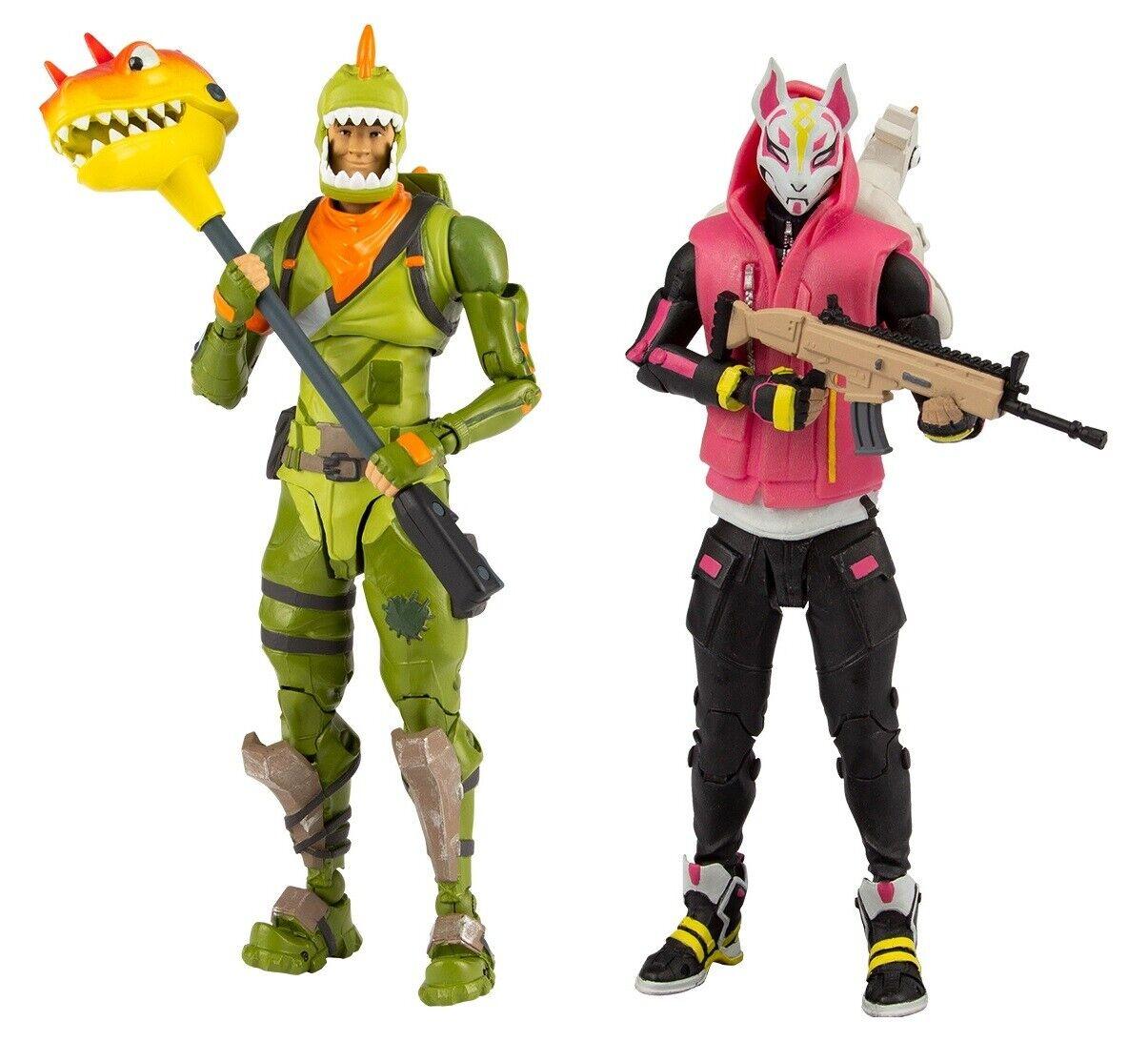 Fortnite Drift & Rex Action Figures McFarlane Toys IN STOCK
