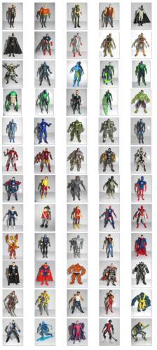 Marvel DC Universe  Superhero 3.75 Toy Figures