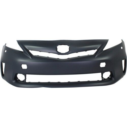 Painted TOYOTA PRIUS V 2012-14 FRONT BUMPER COVER Halogen Headlights