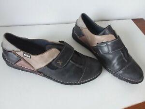 baskets / sneakers femme cuir  pointure 39