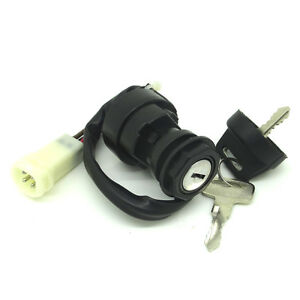 Ignition Key Switch FOR YAMAHA CHAMP 100 YFM100 1987-1991 ATV NEW