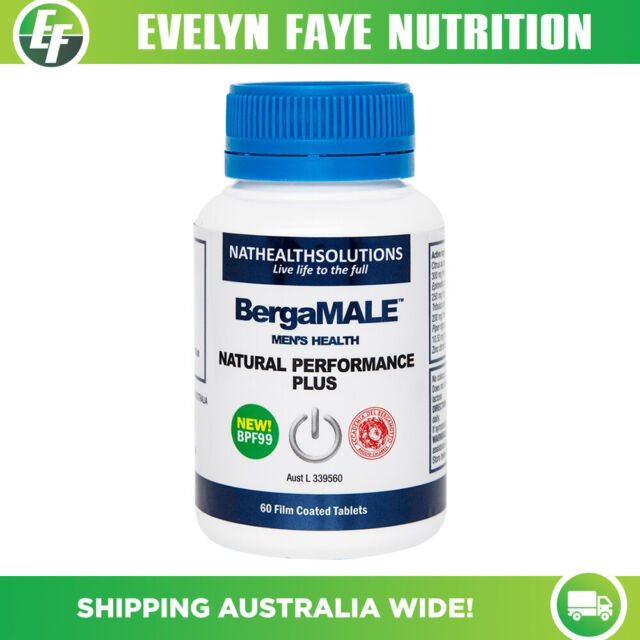 BERGAMET BergaMALE - 60 Tablets