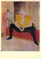 """Poster Print /""""The Clowness Cha U Kao in a Tutu 1895/"""""""
