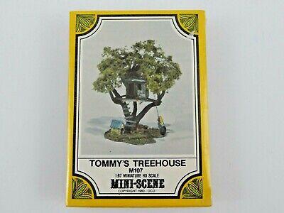 Woodland Scenics M107 HO Tommy/'s Treehouse Kit Train Scenery