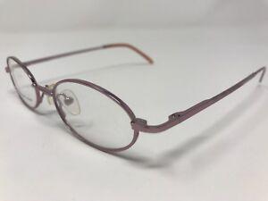 ebccbdbfbdd2 Eye Q Eyeglass Frames HALEY 44-17-130mm Pink Sleek Frame Full Rim ...