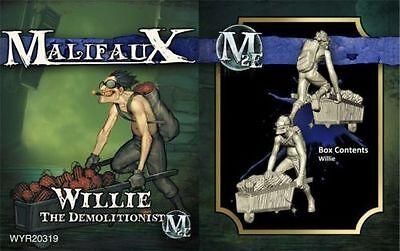 Malifaux Arcanists Willie the Demolitionist NIB