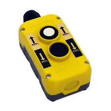 Casella di controllo a due bottoni-Tail LIFT, verricello, un argano