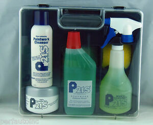 P21s CAR CARE SET 100 CARNAUBA WAX COMPLETE KIT RECOMMENDED FOR